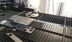 1.0mm鋁板激光切割