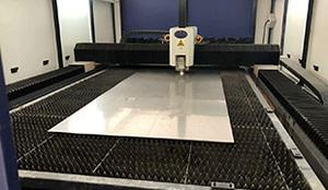 0.6mm銅板激光切割加工